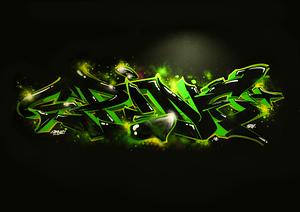 spine b7 graffiti